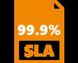 SLA uptime